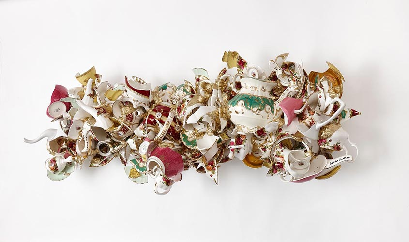 """Found Objects"" at Woolf Gallery"